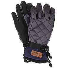 Перчатки женские Roxy Merry Go Gloves Peacoat