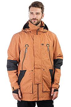 Куртка утепленная DC Shoes Command Leather Brown