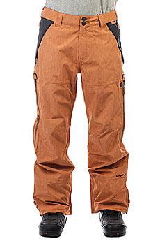Штаны сноубордические DC Shoes Nomad Leather Brown