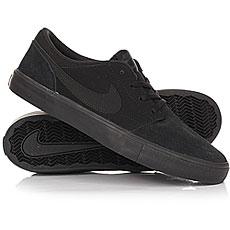 Кеды низкие Nike SB Portmore II Solar Black/Noir