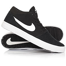 Кеды высокие Nike SB Portmore II Solar Mid Black/White