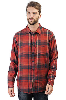 Рубашка в клетку Billabong Coastline Flannel Red