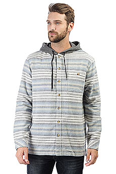 Рубашка в клетку Billabong Baja Flannel Stone Heather