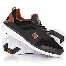 Кроссовки DC Heathrow Prestige Black/Brown/White