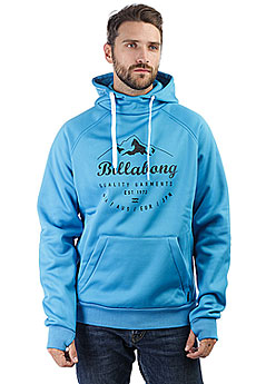 Толстовка классическая Billabong Downhill Bonded Hood Aqua Blue