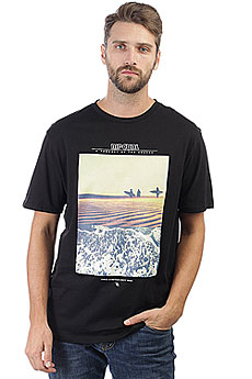 Футболка Rip Curl Gday Bday Black/Gold