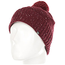 Шапка женская Billabong Snow Time Mystic Maroon
