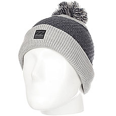Шапка детская Billabong Linus Boys Grey Heather