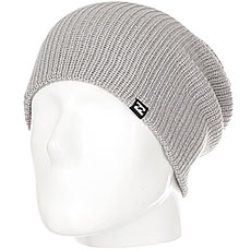 Шапка носок Billabong Livingstone Grey Heather