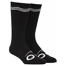 Носки высокие Toy Machine Turtle Face Knee High Socks Black