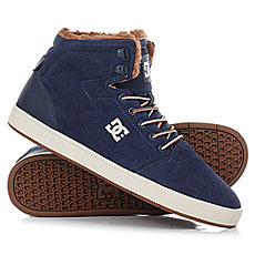 Кеды зимние DC Crisis High Wnt Navy/Camel