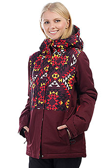 Куртка утепленная женская Billabong Akira Navajo Red