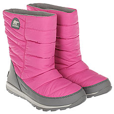 детский Sorel Youth Whitney Mid pink Ice Quarry