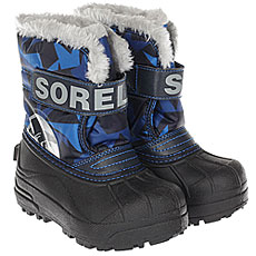 детский Sorel Childrens Snow Commander abyss Super Blue