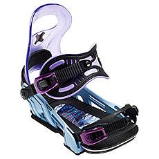 Крепления для сноуборда женские Bent Metal Upshot Blue/Purple/Black