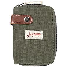 Кошелек Запорожец Zip Wallet Green/Brown