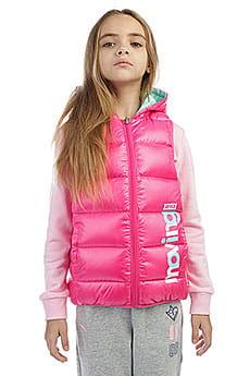 Пуховой жилет для девочек Comfy sport W36747901-3