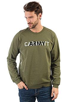 Толстовка классическая Carhartt WIP Ca Training Sweatshirt Rover Green