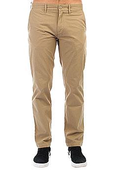 Штаны прямые Carhartt WIP Johnson Pant Leather