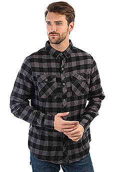 Рубашка в клетку Billabong All Day Flannel Ls Black