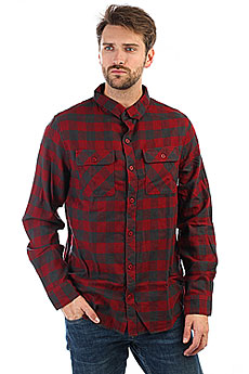 Рубашка в клетку Billabong All Day Flannel Ls Blood