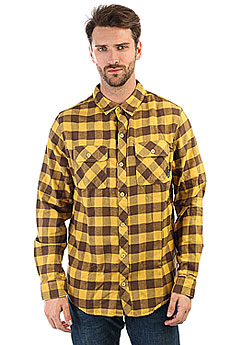 Рубашка в клетку Billabong All Day Flannel Ls (bright Gold