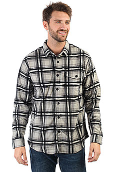 Рубашка в клетку Billabong Furnace Flannel Ls Light Grey