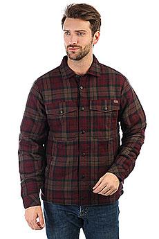 Рубашка утепленная Billabong Barlow Reversible Brown