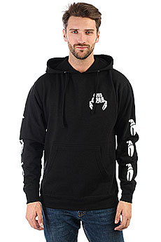 Толстовка кенгуру Crabgrab Claw Sleeves Hoody Black