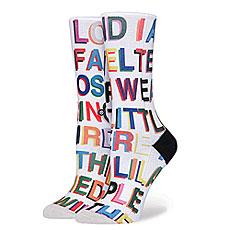 Носки высокие женские Stance Libertine Love Letters Multi