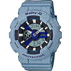 Кварцевые часы женские Casio G-Shock Baby-g ba-110de-2a2 Blue