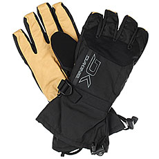 Варежки Dakine Leather Scout Glove Black/Tan