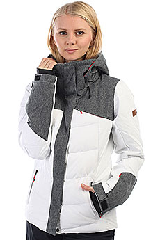 Куртка утепленная женская Roxy Flicker Bright White