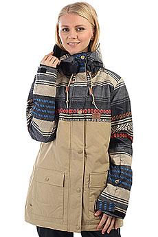 Куртка утепленная женская DC Cruiser Poncho Stripe