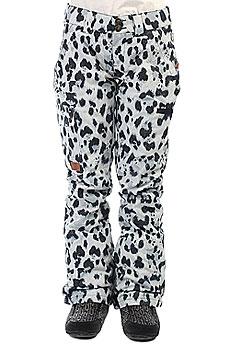 Штаны сноубордические женские DC Recruit Snow Leopard