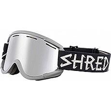 Маска для сноуборда Shred Nastify Moonscape Platinum Black