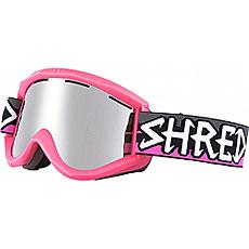 Маска для сноуборда Shred Soaza Path Platinum Neon Pink