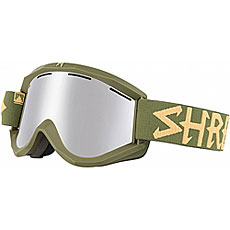 Маска для сноуборда Shred Soaza Trooper Platinum Military Green/Yellow