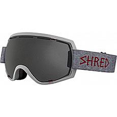 Маска для сноуборда Shred Stupefy Heather Stealth Grey