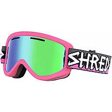 Маска для сноуборда Shred Wonderfy Neon Pink