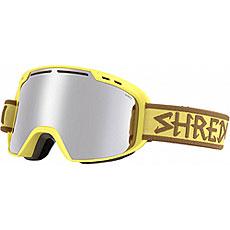 Маска для сноуборда Shred Amazify Platinum Yellow