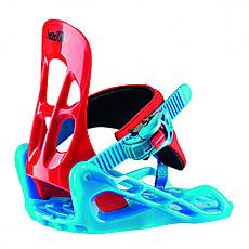 Крепления для сноуборда Head P Kid Red/Aqua