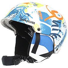 Шлем для сноуборда детский Quiksilver Empire White Youth Thunderbird