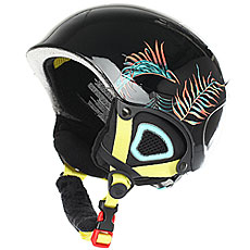 Шлем для сноуборда детский Roxy Misty Girl Pck True Black neon Palm