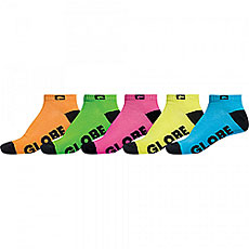 Комлект носков Globe Ankle Sock Neon Pack
