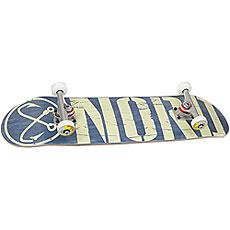 Скейтборд в сборе Nord Logo Beige/Blue