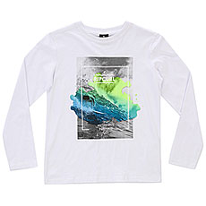 Лонгслив детский Rip Curl Satured Action Print Optical White