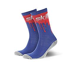 Носки средние Skills Кровь Светло-синие
