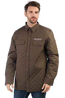 Куртка Capita Campita-insulated Flannel Olive Drab