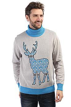 Свитер Запорожец Deer X Helga Grey/Blue